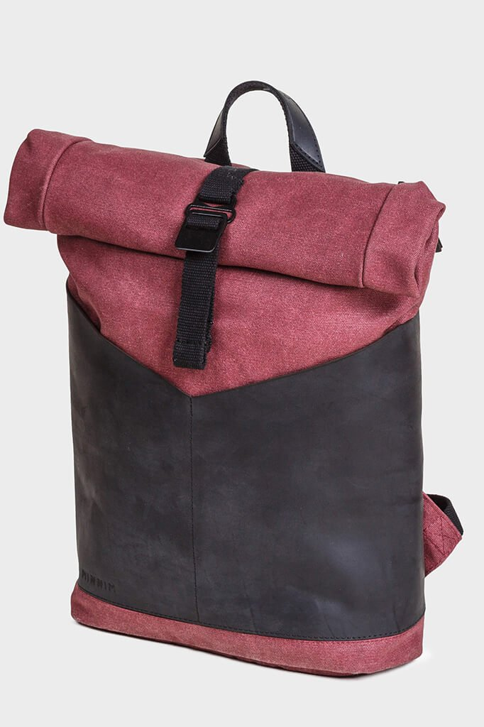 Рюкзак RollTop Arrow Burgundy